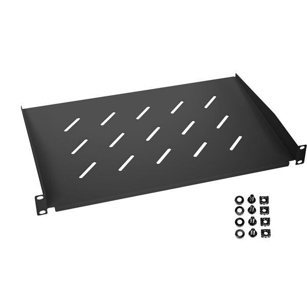 Fachboden für Serverschrank, 19 Zoll, 1 HE, HMF 65499, 48,3 x 30 x 4,5 cm