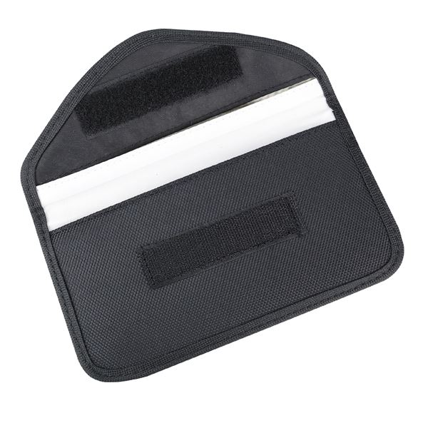 RFID XL Schutztasche Smartphone Autoschlüssel, Abschirmung, HMF 3405-02, 10,5 x 19 x 1,5 cm