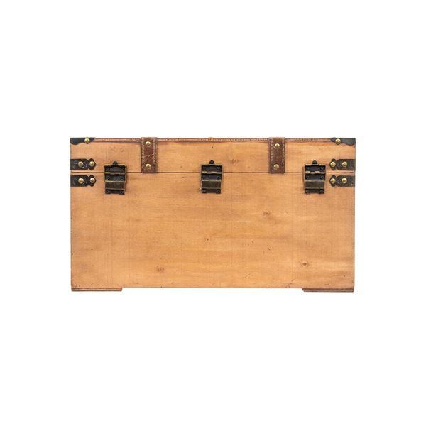 Schatztruhe mit Stoffbezug, Mali, HMF 6420, verschiedene Größen