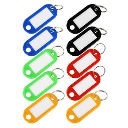 Schlüsselanhänger mit Schlüsselring, HMF 1900, 5 x 2,2 x 0,26 cm, Farblich sortiert