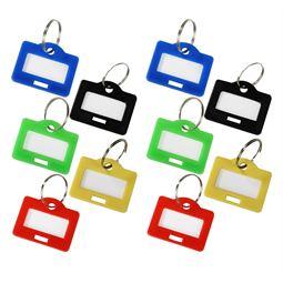 10 x Schlüsselanhänger, HMF 1800, 2,9 x 2,5 x 0,26 cm, Farblich sortiert