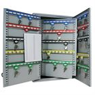 Schlüsselschrank 300 Haken, HMF 135300-07, 55 x 38 x 20,5 cm, lichtgrau