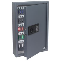 Schlüsseltresor 108 Haken, HMF 2100-11, 66,5 x 43 x 13 cm, anthrazit