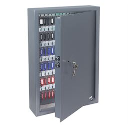 Schlüsseltresor 132 Haken, Doppelbartschloss, HMF 2933-11, 66,5 x 43 x 13 cm, anthrazit
