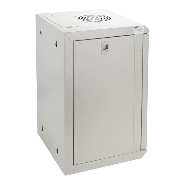 Serverschrank 10 Zoll, 9 HE, HMF 63309, 31,2 x 30 x 48,3 cm