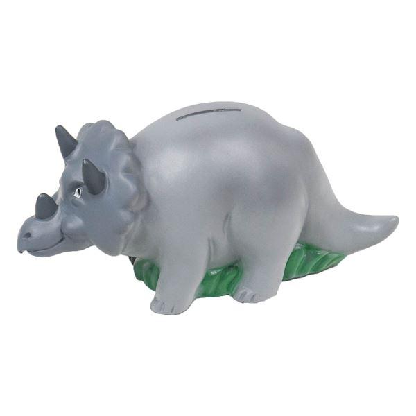 Spardose Dino, HMF 48921, 8 x 10,7 x 21,5 cm