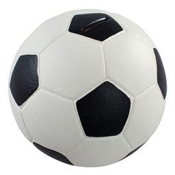 Spardose Fußball Lederoptik, HMF 4790, 15 cm #VarInfo