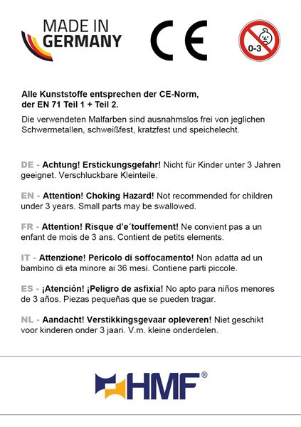 Spardose Schatzkiste Holzoptik, HMF 48911, 12 x 8 x 7,5 cm