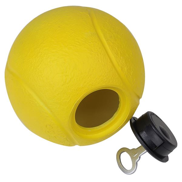 Spardose Tennisball, HMF 48910, 10 cm