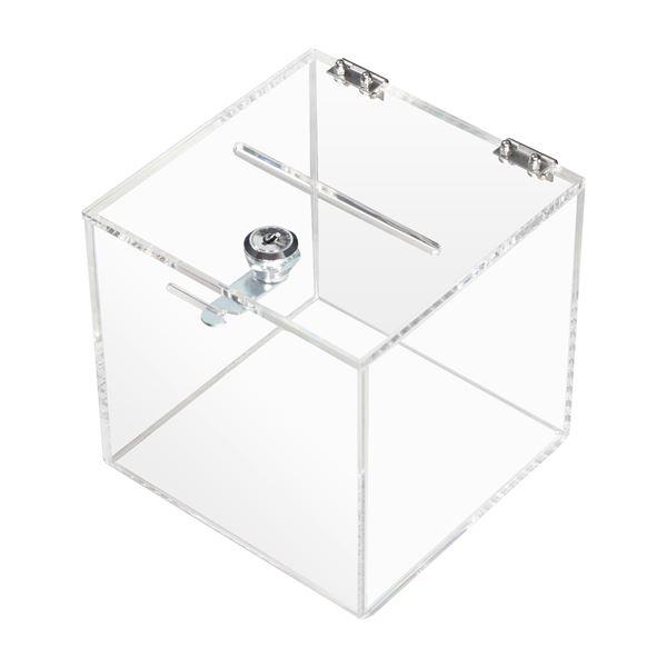 Spendenbox Acryl Würfel 15 Cm Bei Hmf Kaufen Hmf Shopde
