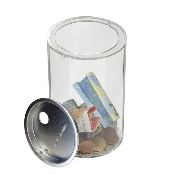 Spendendose Acryl, HMF 4690000, 15,5 x 10 cm