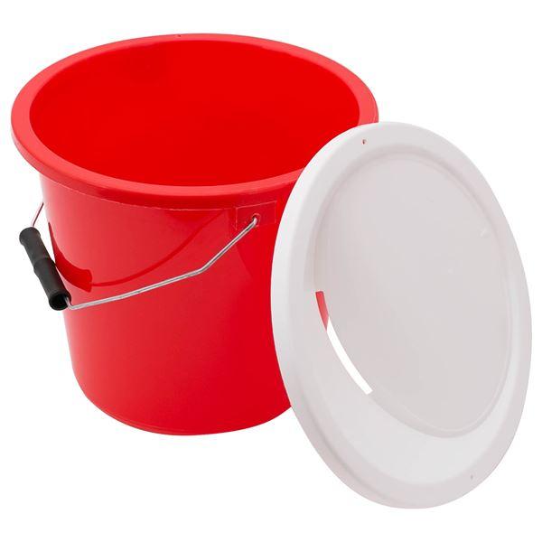 Spendeneimer groß, abschließbar, HMF 48950-03, Durchmesser: 23 cm, Höhe: 20 cm