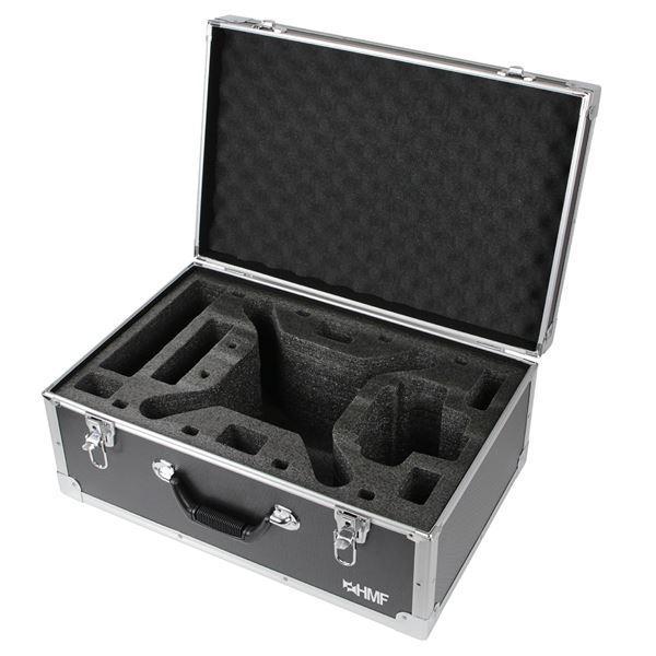 DJI Phantom 3 Transportkoffer für RC Drohne, Alu, HMF 186012-02, 54 x 38 x 25 cm