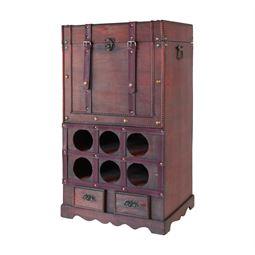 Weinregal vintage, Frankreich, HMF 6500-176, 76 x 43 x 33 cm