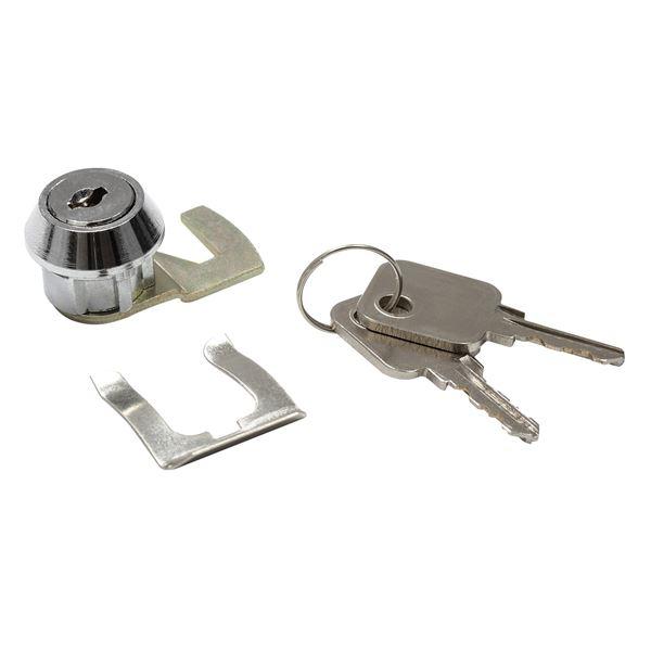 HMF Zylinderschloss 58001 für Geldkassette 32 cm