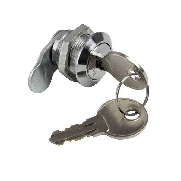 HMF Zylinderschloss 58005 für Schlüsselschränke