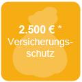 Versicherungsschutz bis zu 2.500€*