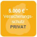 Versicherungsschutz bis zu 5.000€*